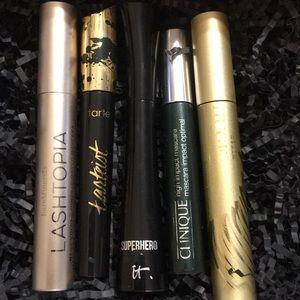 Lot of 5 Prestige High End Mascaras in Black